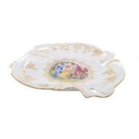 Блюдо ракушка Queen's Crown Мадонна перламутр 31 см