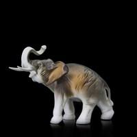 "Статуэтка ""Слон"" 16 см, фарфор"