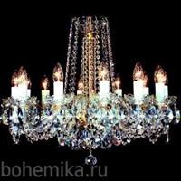 Люстра хрустальная 4004/12/669sw (12-ти рожковая)