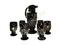 Набор для сока или воды, графин + 6 стаканов 987904