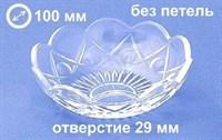 Чашка (розетка) для люстры отверстие 29 мм, без петель