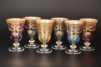 Набор бокалов для вина Art Decor Veneziano Color