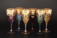 Набор бокалов для вина Liric Art Decor Veneziano Color 320мл