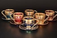 Набор кофейных пар Art Decor Veneziano Color