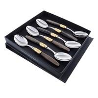 Набор столовых ложек domus victoria gold (6 шт)