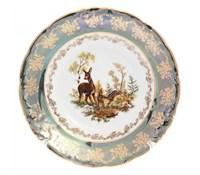 "Набор тарелок 25 см ""Зеленая охота"""