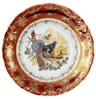 """Набор десертных тарелок 19 см """"Красная охота"""" (6 штук)"""