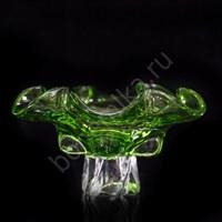 Конфетница 25 см Зеленая