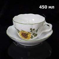 "Чайная пара ""Подсолнух"" DUO 450 мл"