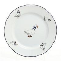 Набор тарелок Thun Констанция Гуси 19 см(6 шт)