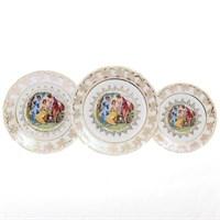 Набор тарелок Carlsbad Фредерика Мадонна Перламутр 18 предметов
