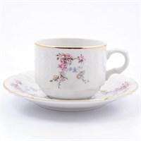 Набор чайных пар Bernadotte Дикая роза золото 250мл (6 пар)