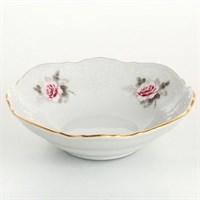 Набор салатников Bernadotte Серая роза золото 13 см(6 шт)