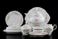 Чайный сервиз Bernadotte Серая роза золото 12 персон 43 предмета