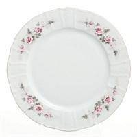 Блюдо круглое Bernadotte Серая роза платина 30 см