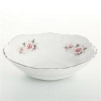 Набор салатников Bernadotte Серая роза платина 16 см(6 шт)