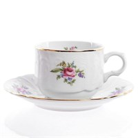Набор чайных пар Bernadotte Полевой цветок 250 мл(6 пар)
