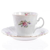 Набор чайных пар ведерко Bernadotte Полевой цветок 200 мл(6 пар)