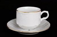 Набор кофейных пар Bernadotte Белый узор 120 мл(6 пар)