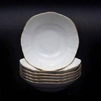 Набор салатников Bernadotte Белый узор 13 см(6 шт)