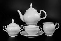 Чайный сервиз Bernadotte Недекорированный 6 персон 17 предметов