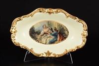 Блюдо овальное Bruno Costenaro Boucher Ceramiche 25*16*4.5см