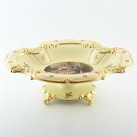 Фруктовница на ножке Ceramiche Bruno Costenaro 47*35*16см
