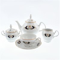 Чайный сервиз на 6 персон Bernadotte Синий глаз17 предметов
