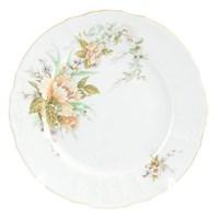 Набор тарелок Bernadotte Зеленый цветок 25 см(6 шт)
