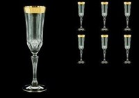 Набор фужеров для шампанского RCR Adagio 180мл (6 шт)