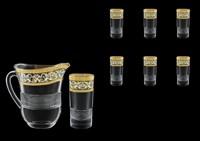 Кувшин со стаканами Astra Gold Allegro Fiesole Golden Light Decor (Кувшин 1100мл Стаканы 360мл)