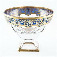 Конфетница Astra Gold Natalia Golden Blue Decor 24,5см