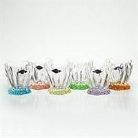 Набор стаканов для виски ассорти Aurum Crystal PLANTICA 320 мл (6шт)
