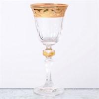 Набор рюмок Кристина для водки Bohemia Gold Махарадже 60мл(6 шт)