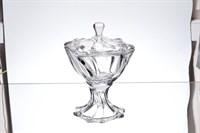 Конфетница с крышкой Crystalite Bohemia Neptune 26 см