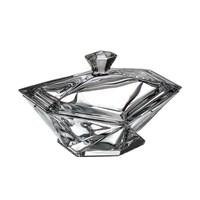Конфетница с крышкой Crystalite Bohemia Origami 22 см