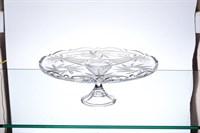 Тарелка для торта на ножке Crystalite Bohemia Pinwheel 31 см