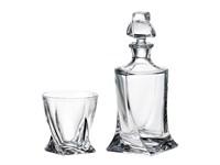 Набор для виски 7 предметов Crystalite Bohemia Quadro