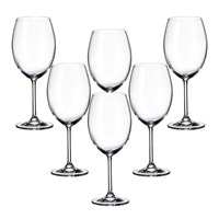 Набор бокалов для вина Crystalite Bohemia Colibri/Gastro 580 мл (6 шт)