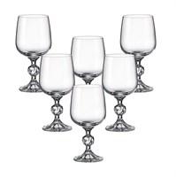 Набор бокалов для вина Crystalite Bohemia Sterna/Klaudie 230мл (6 шт)
