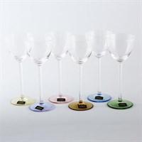 Набор рюмок для водки Арлекино Crystalite Bohemia Suzanne 110 мл(6 шт)