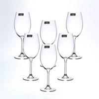 Набор бокалов для вина Crystalite Bohemia Sylvia/Klara 250 мл (6 шт)