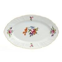 Блюдо овальное Bernadotte Полевой цветок 34 см