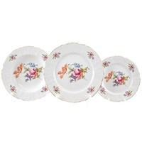 Набор тарелок Bernadotte Полевой цветок 18 предметов