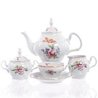 Чайный сервиз Bernadotte Полевой цветок 6 персон 17 предметов