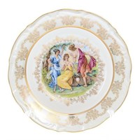 Набор тарелок глубоких Queen's Crown Мадонна Перламутр 23 см(6 шт)