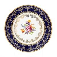 Набор тарелок Констанция Кобольт Полевой цветок 17см (6 шт)