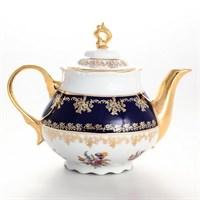 Чайник Thun Констанция Полевой цветок Кобольт 1,2л