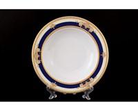 Набор тарелок глубоких 22 см Яна Кобальтовая лента (6 шт)