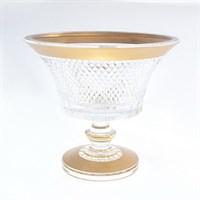 Конфетница Золото Филиция Bohemia Max Crystal 20 см